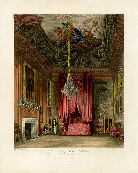 478px-Queen_Mary's_State_Bedchamber,_Hampton_Court,_from_Pyne's_Royal_Residences,_1819_-_panteek_pyn108-551